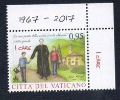 2017 - VATICAN - VATICANO - VATIKAN - S21G - MNH SET OF 1 STAMP ** - Unused Stamps