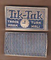 AC  - TIK TAK SHAVING RAZOR BLADE IN WRAPPER MADE IN TURKEY - Razor Blades