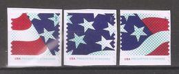 US 2015 Flag Stars & Stripes 3 Singles Presorted Standard,Sc 4961-63,MNH** - United States