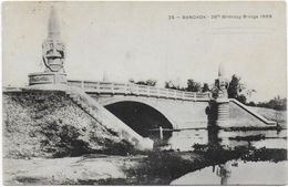 CPA - BANGKOK - 26TH BIRTHDAY BRIDGE 1909 - Thailand
