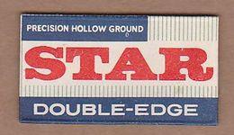 AC - STAR DOUBLE EDGE BLADE SHAVING RAZOR BLADE IN WRAPPER - Razor Blades