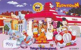 Télécarte Japon DISNEY * 110-194811 * Série TOONTOWN (4958) Japan Phonecard TK * Amusement Park - Disney