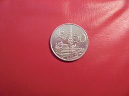 "Baudouin 1er. 50 Francs ""EXPO 1958"" FR. ARGENT. - 1951-1993: Baudouin I"