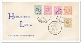 België 1964, Heraldieke Leeuw - FDC
