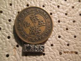 HONG KONG  5 Cents 1950 - Hong Kong