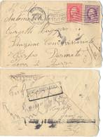 ITALIE LETTRE BOSTON EU  25 APR 1918 => AUTOMOBILISTA .. 2e CORPO DARMATA ZONA DI GUERRA + Cachet BENOVA POSTA ESTERO - Occupation 1ère Guerre Mondiale