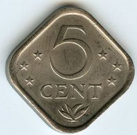 Antilles Neérlandaises Netherlands Antilles 5 Cents 1979 KM 13 - Antilles Neérlandaises