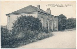 BERTHENAY - La Mairie Et L'Ecole Communale - Francia