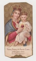 Image Pieuse Notre Dame Du Sacré-Coeur Priez Pour Nous 300 Jours D'indulgence De 1955 - Religion & Esotérisme