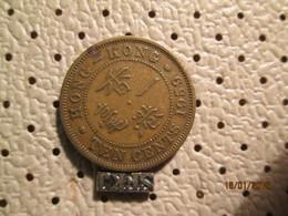 HONG KONG 10 Cents 1959 - Hong Kong