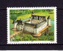 TIMBRE France  N 3081 NEUF ** LUXE DE 1997 Château Du Pessis-Bourré Maine Et Loire - Unused Stamps