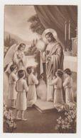 Image Pieuse Souvenir Première Communion Eglise Saint-Rémy De Draveil En 1935 - Religion & Esotérisme