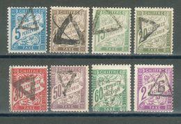 FRANCE ; Taxes ; 1893-1935 ; Type I ; Lot : 06 ; Oblitéré - 1859-1955 Oblitérés