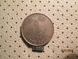 HONG KONG 1 Dollar 1997 - Hong Kong