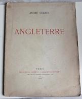 Livre Rare Numéroté André Suarès Angleterre Poèmes Guerre 14-18 WWI 1000 Exemplaires 1916 édition Originale - 1901-1940