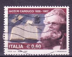 2007  GIOSUE' CARDUCCI   USATO - 6. 1946-.. Repubblica