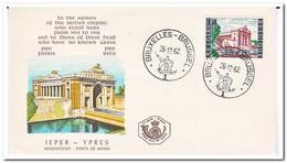 België 1962, 1000 Years City Ypern - FDC