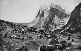 GRINDELWALD - Bahn Oberhalb Des Dorfes Anno 1956 - BE Bern