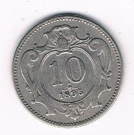 10 HELLER 1895 OOSTENRIJK /115G/ - Austria