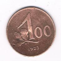 100 KRONEN 1923 OOSTENRIJK /119G/ - Austria