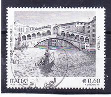 2007  VENEZIA PATRIMONIO UNESCO USATO - 6. 1946-.. Repubblica