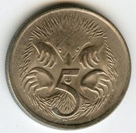 Australie Australia 5 Cents 1980 KM 64 - Monnaie Décimale (1966-...)