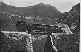 BRIENZER - ROTHHORNBAHN → Dampfzug Unterwegs Mit Vollen Wagen Anno 1936 - BE Bern