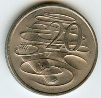 Australie Australia 20 Cents 1980 KM 66 - Monnaie Décimale (1966-...)