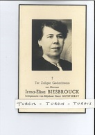IRMA E BIESBROUCK ECHTG HENRI GRYSPEERDT ° LOMBARDSIJDE ( MIDDELKERKE ) 1885 + OOSTENDE - MARIAKERKE 1944 - Imágenes Religiosas
