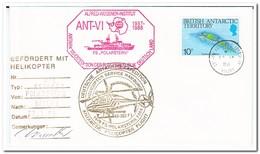 German Antarctic Expedition 1988, Antarctic Helicopter Flight - Poolvluchten