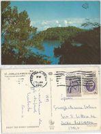 St. John US Virgin Islands National Park AirmailPPC Puerto Rico 5jan1981 With 2 Stamps - Virgin Islands, US