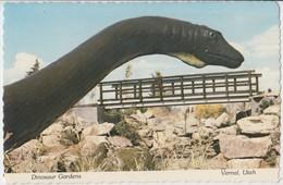 Diplodocus, Dinosaur Gardens, Vernal, Utah, Unused Postcard [20844] - United States