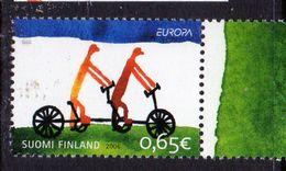 PIA -  FINLANDIA  - 2006 - EUROPA - L' Integrazione  - (Yv  1773) - 2006