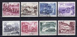 AUTRICHE Austria 1964 UPU Yv 993/1000 Obl. - 1961-70 Usati