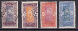 Dahomey N°61,63,64,65 Nf Et Obl - Unused Stamps