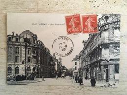 62 - CPA Animée ARRAS - Rue Gambetta (La Pensée, 2942) - Arras