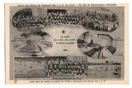 45 LOIRET - SULLY SUR LOIRE Camp Du Val De Loire, Camps De Vacances Des J.L.R. Du Loiret (voir Descriptif) - Sully Sur Loire
