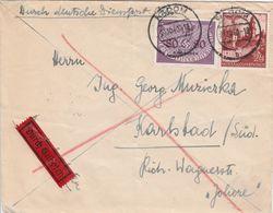General Gouvernement Lettre Par Exprès Radom 1940 - 1939-44: 2. WK
