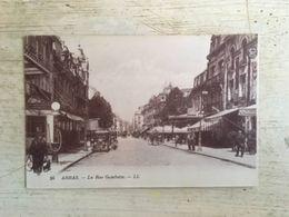 62 - CPA Animée ARRAS - Rue Gambetta (LL, 56) - Arras