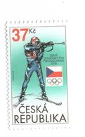 Czech Republic 2018 - Biatlon, Olympic  Games In South Corea, 1 Stamps, MNH - Andere