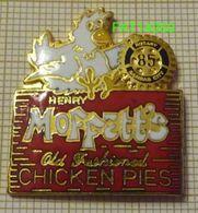 RESTAURANT MOFFET'S  CHICKEN PIES  KANSAS CITY  ROTARY CLUB - Food