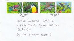 """FRANCE -DEVANT DE LETTRE THOUARS DEUX-SEVRES 15.4.2003 - SERIE """"NATURE DE FRANCE"""" 3548-3551 /1 - Marcophilie (Lettres)"""