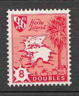 Herm Island  (Guernsey) -1968 8doubles Redrawn Smaller 8. - Unmounted Mint NHM - Guernsey