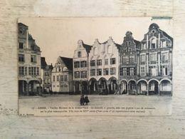 62 - CPA Animée ARRAS - Vieilles Maisons De La Grand'Place - B (B.D.,17) - Arras