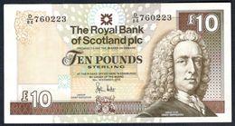 Scotland - 10 Pounds 2010 - Royal Bank Of Scotland - P353 - [ 3] Scotland
