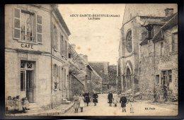 ARCY SAINTE RESTITUE 02 - La Poste - Café - Boulangerie - France