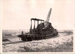 Canon De 320 Mm Sur Rail En France - 1940 - Guerre, Militaire