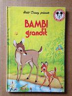 Disney - Mickey Club Du Livre - Bambi Grandit (1993) - Books, Magazines, Comics