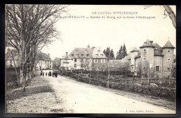 MONTSALVY 15 - Entrée Du Bourg Sur La Route D'Entraygues - France