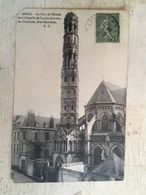 62 - CPA ARRAS - La Tour Et L'Abside De La Chapelle De L'ancien Couvent Des Ursulines, Rue Gambetta (B.D) - Arras